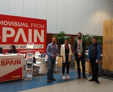 Business Delegation of the Galician audiovisual at Series Mania 2019